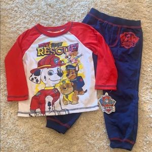 Size 3T paw patrol outfit. NEW WITH TAGS